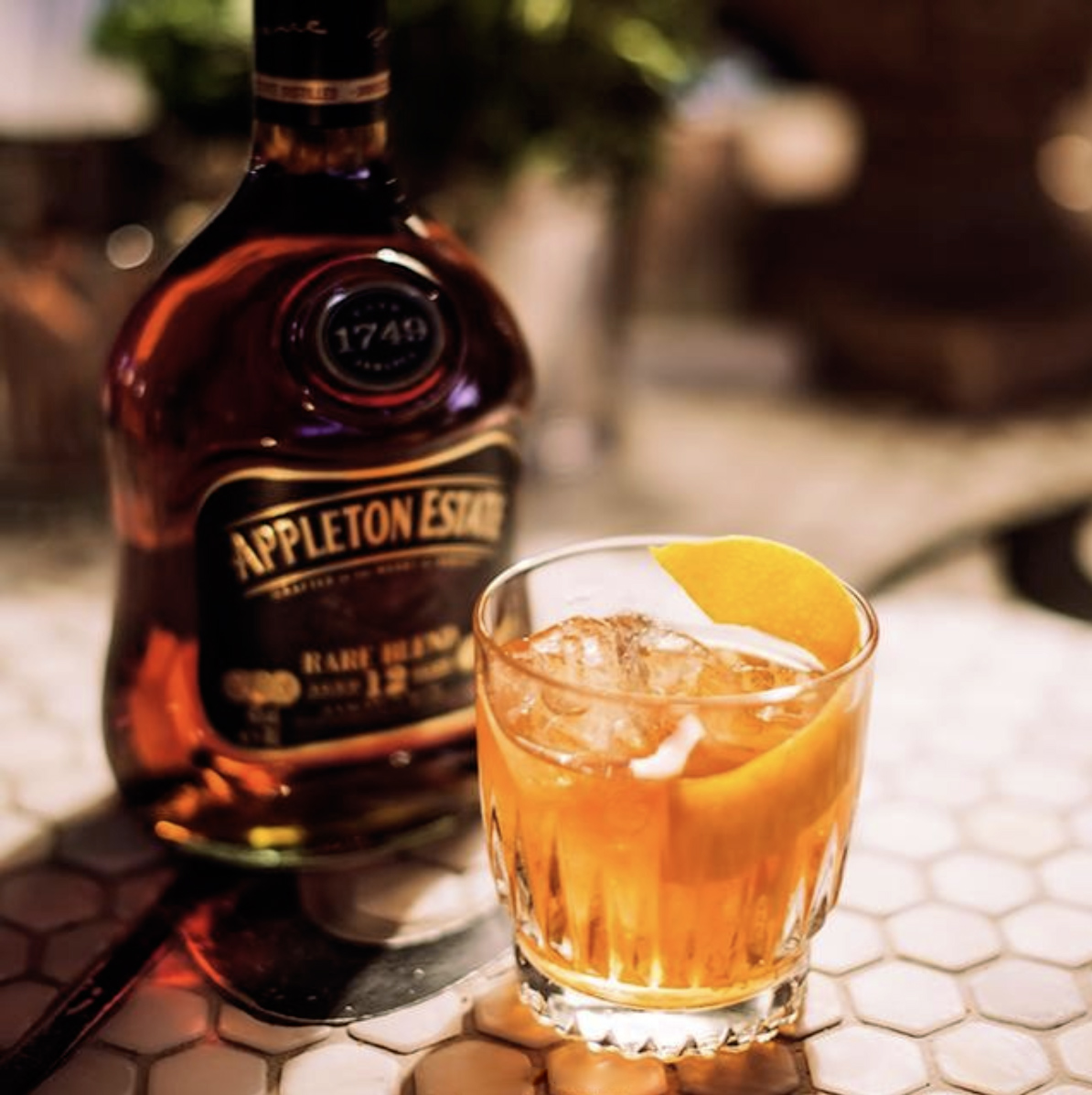Appleton-estate-rare-blend Old Faashioned